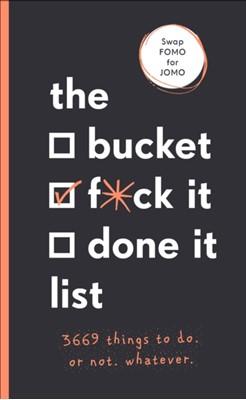 The Bucket, F*ck it, Done it List Sara Kinninmont 9781529104745