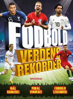 Fodbold Verdensrekorder 2019-2020 Clive Gifford 9788771557350