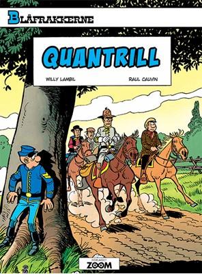 Blåfrakkerne: Quantrill Raoul Cauvin, Lambil 9788770210799