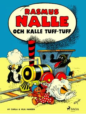 Rasmus Nalle och Kalle tuff-tuff Carla og Vilhelm Hansen 9788711927441
