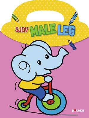 Sjov male-leg: Elefant Ukendt forfatter 9788772052687