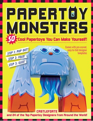 Papertoy Monsters Brian Castleforte 9780761158820