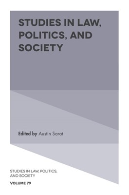 Studies in Law, Politics, and Society  9781789737288