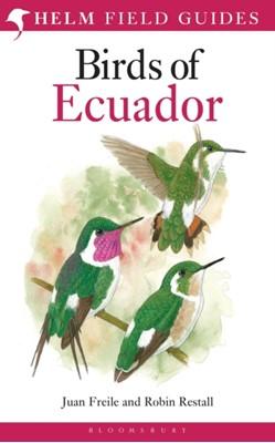 Birds of Ecuador Robin L. Restall, Juan Freile 9781408105337