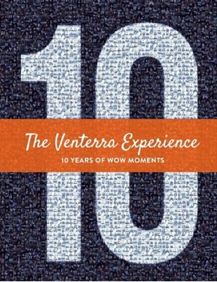 The Venterra Experience- 10 Years of Wow Moments Venterra Realty 9781543963793