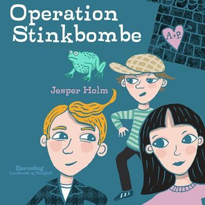 Operation Stinkbombe Jesper Holm 9788726195439