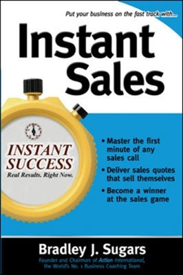 Instant Sales Bradley J. Sugars 9780071466646