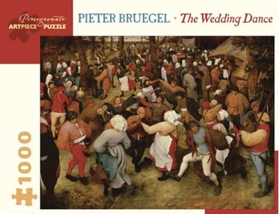 Pieter Bruegel the Wedding Dance 1000-Piece Jigsaw Puzzle  9780764983085
