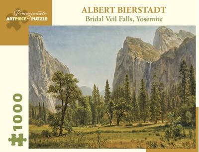 Albert Bierstadt Bridai Veil Falls Yosemite 1000-Piece Jigsaw Puzzle  9780764983078
