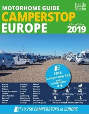 Motorhome guide Camperstop Europe 27 countr. 2019 GPS  9789076080581