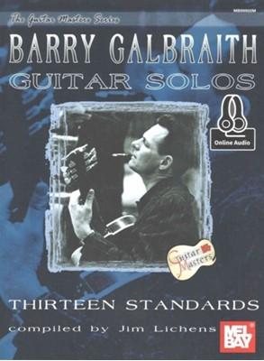 BARRY GALBRAITH GUITAR SOLOS BARRY GALBRAITH 9780786686827