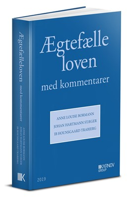 Ægtefælleloven Anne Louise Bormann, Ib Hounsgaard Trabjerg, Johan Hartmann Stæger 9788761941077