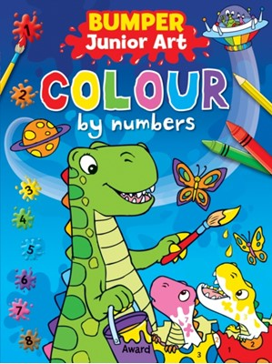 Junior Art Bumper Colour By Numbers  9781841359984
