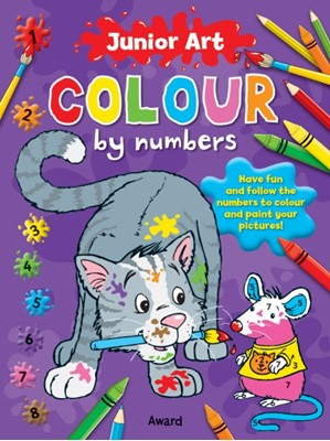 Junior Art Colour By Numbers: Cat Anna Award 9781841358604