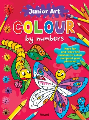 Junior Art Colour By Numbers: Butterfly Anna Award 9781841358598