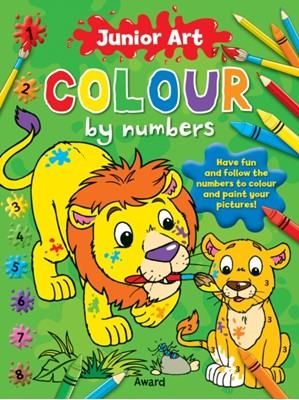 Junior Art Colour By Numbers: Lion Anna Award 9781841358574