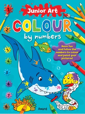 Junior Art Colour By Numbers: Shark Anna Award 9781841358581