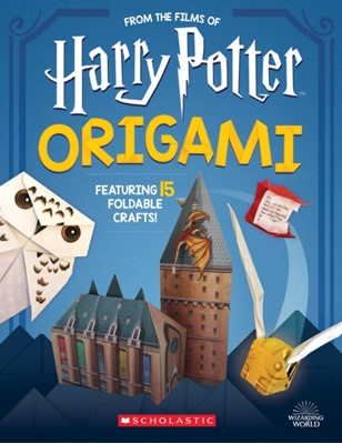 Origami: 15 Paper-Folding Projects Straight from the Wizarding World! (Harry Potter) Scholastic 9781338322965