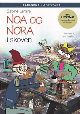 Carlsens læsestart - Noa og Nora i skoven Sabine Lemire 9788711913116