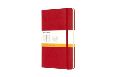 Moleskine Large Ruled Notebook Red  9788862930048