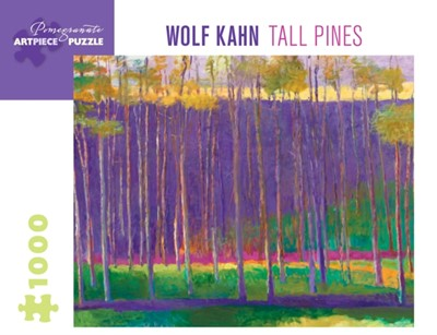 Wolf Kahn Tall Pines 1000-Piece Jigsaw Puzzle  9780764984563