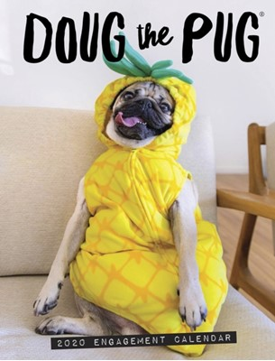 Doug the Pug 2020 Engagement Calendar (Dog Breed Calendar)  9781549209291