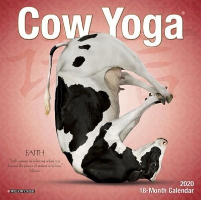Cow Yoga 2020 Mini Wall Calendar Willow Creek Press 9781549208508
