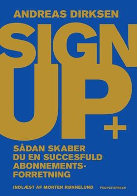 Sign Up Andreas Dirksen 9788770365376