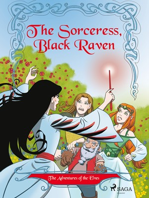 The Adventures of the Elves 2: The Sorceress, Black Raven Peter Gotthardt 9788711742273