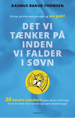 Det vi tænker på inden vi falder i søvn Rasmus Barud Thomsen 9788793681590
