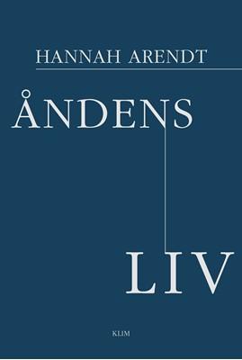 Åndens liv Hannah Arendt 9788772044484