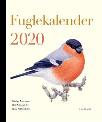 Fuglekalender 2020 Dan Zetterström, Bill Zetterström, Mats Ottosson 9788702284928