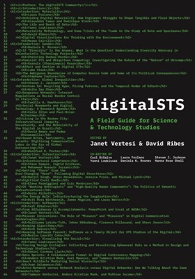 digitalSTS David Ribes, Janet Vertesi 9780691187082