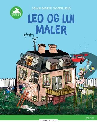 Leo og Lui maler, Grøn læseklub Anne-Marie Donslund 9788723529404