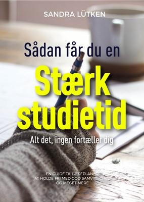 Stærk studietid Sandra Lütken 9788797158814