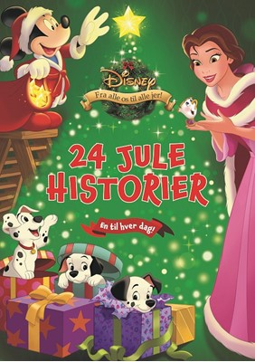 Disney Julekalenderbog Karrusel Forlag 9788771861631