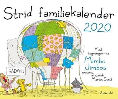 Strid familiekalender 2020 Jakob Martin Strid 9788702288230