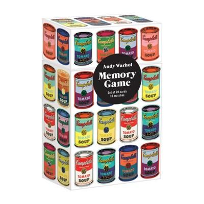Andy Warhol Memory Game Galison, Sarah McMenemy 9780735355538