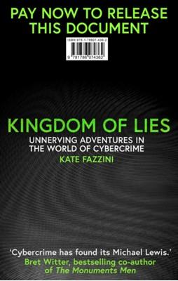 Kingdom of Lies Kate Fazzini 9781786076373