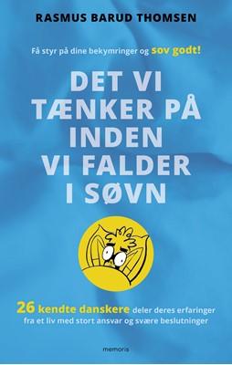Det vi tænker på inden vi falder i søvn Rasmus Barud Thomsen 9788793681583