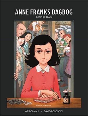 Anne Franks Dagbog graphic novel ANNE FRANK 9788711904770