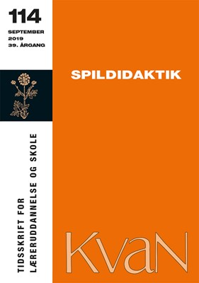 KvaN 114: Spildidaktik Thorkild Hanghøj m.fl. 9788793820050