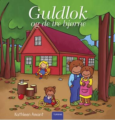 Guldlok og de tre bjørne Kathleen Amant 9788740658200