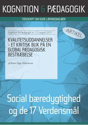 Kvalitetsuddannelser Brian Degn Mårtensson 9788771853995
