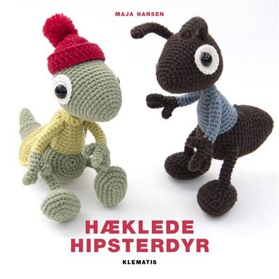 Hæklede hipsterdyr Maja Hansen 9788771393965
