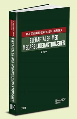 Ejeraftaler med medarbejderaktionærer Lise Lauridsen, Anja Staugaard Jensen 9788761941220