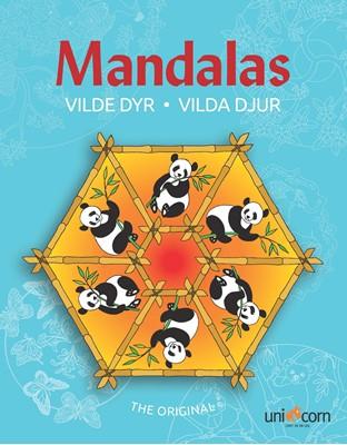 Mandalas med Vilde Dyr  9788792484789