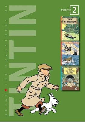 Adventures of Tintin 3 Complete Adventures in 1 Volume Herge 9780316359429