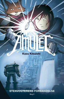 Amulet 2: Stenvogterens forbandelse Kazu Kibuishi 9788741508863
