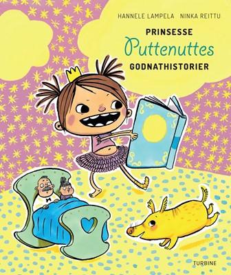 Prinsesse Puttenuttes godnathistorier Hannele Lampela 9788740655780